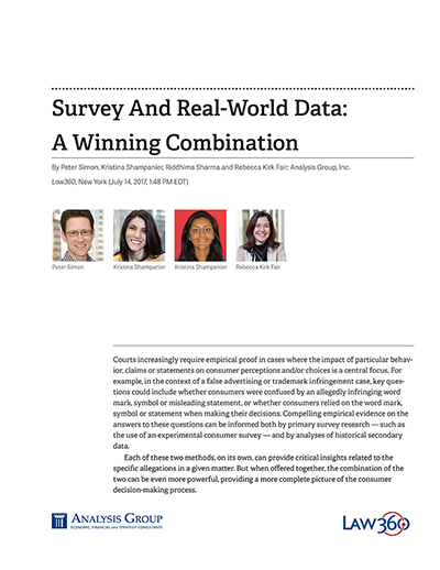 Survey And Real-World Data: A Winning Combination